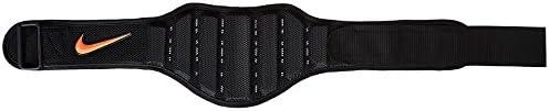 Nike Structured Training Belt 2.0 Med, Black Total Crimson