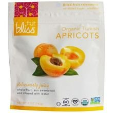 Fruit Bliss Organic Turkish Dried Apricots, 5 Ounce -- 6 per case.