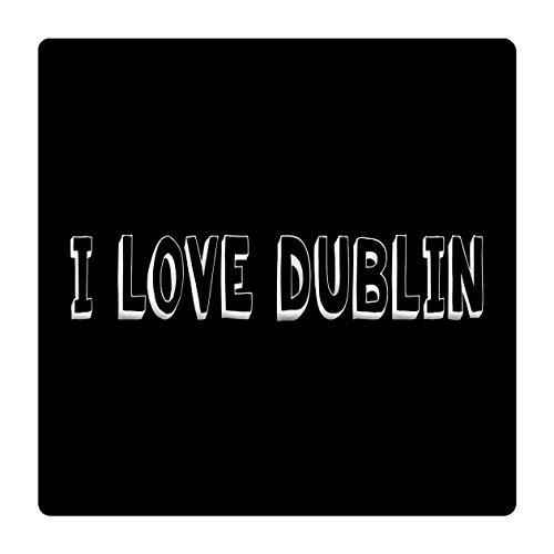 Makoroni - I Love Dublin Ceramic Tile Trivet 6X 6 (Ceramic Tiles Dublin)