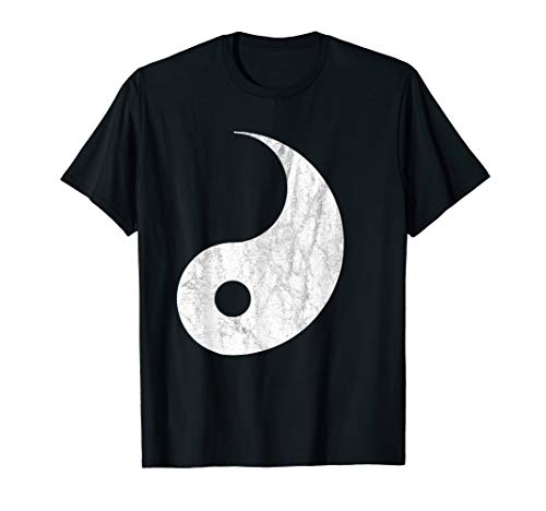Yin Yang Halloween T-shirt Couples Costume for Adults -