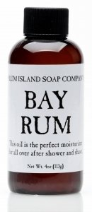 Plum Island Bay Rum Oil Natural After Shave