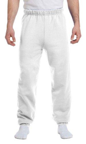 Jerzees 8 oz, 50/50 NuBlend Fleece Sweatpants (973)- Ash,S ()