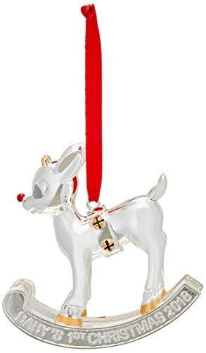 Lenox 2018 Baby's 1st Christmas Rudolph Ornament