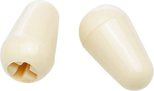 Fender Stratocaster Switch Tips - Aged White