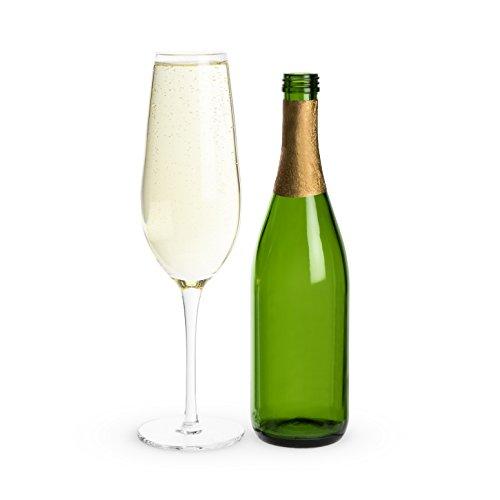 True 7462 Big Bubbly: Full Bottle Prosecco Glass Glassware, Clear
