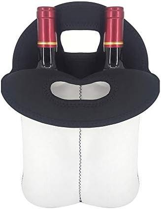 ワインバッグ コンテナ ボトルバッグ パンダ かわいい ワインボトルカバー ワインギフト 絶縁 ワインケース キャリア保冷バッグ 哺乳瓶 収納袋 貯蔵容器 断熱 涼しさ ハンドバッグ 乾燥 ボトルケース 装飾 お祝い