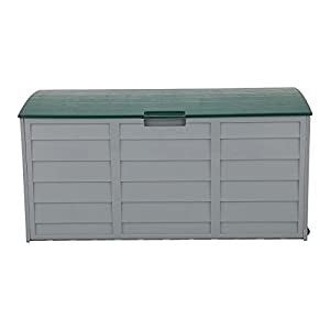 Outdoor Plastic Cushions Storage Chest 260L