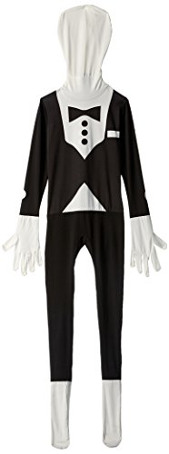 Tuxedo Kids Morphsuit Costume - size Small 3'-3'5 (91cm-104 cm) (People In Morphsuits)