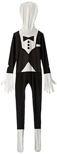 Tuxedo Kids Morphsuit Costume - size Small 3'-3'5 (91cm-104 cm)