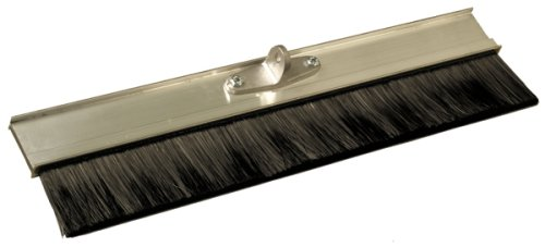 Bon 12-320 24-Inch Aluminum Block Concrete Brush with Soft Poly Bristles