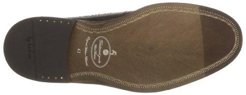 Hudson Callaghan - Zapatos de cordones para hombre Burdeos