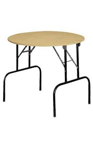 New Retails Round Display Table With Folding Legs 36â€Dia. X 30â€H by Round Display Table