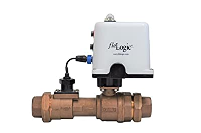 FloLogic System 3.5 1.5-Inch Whole Property Plumbing Leak Detector with Automatic Shutoff