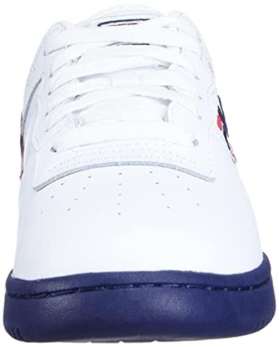 Fila Men's Original Vintage Fitness Shoe,White/Navy/Red,13 M