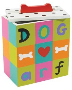 Color Painted Dog Treat Box – Arf Dog (Box only, Treats sold separately) Review
