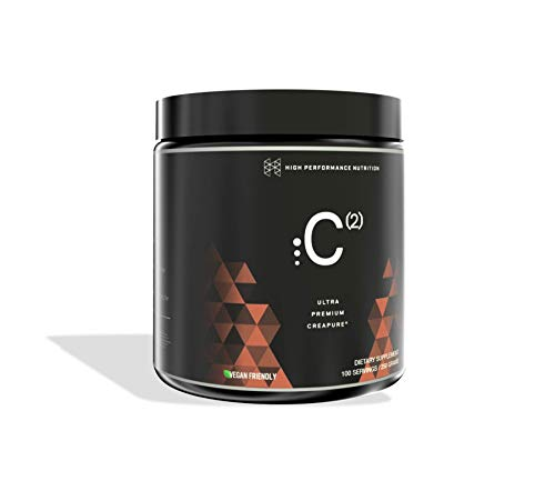 Cheap HPN C(2) Ultrapure Premium Creapure Creatine 100 Servings Monohydrate High Performance Nutrition Dietary Supplement
