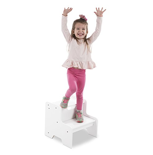 Melissa & Doug Step Stool - White by Melissa & Doug