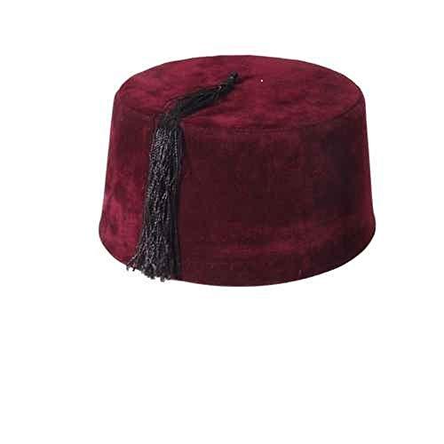 Tulumba Maroon Fez Hat