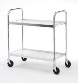 Charnstrom Medium Two Shelf Utility Cart (B106) by Charnstrom