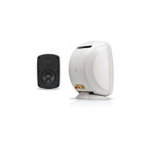 Russound 5B65SW 6.5-Inch Outdoor Single Point Speaker (White) by Russound