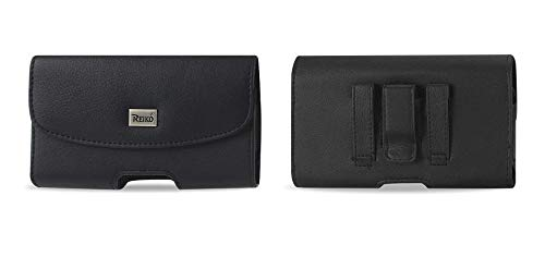 Reiko Leather Pouch Holder Compatible for Samsung Galaxy S5 (Samsung Cell Phone Cases S5)