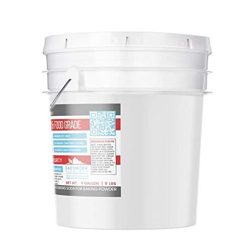Cream of Tartar (1 Gallon) by Earthborn Elements, Resealable Bucket, Highest Purity, Baking Additive, Non-GMO, Kosher, Gluten-Free, All-Natural, DIY Bath Bombs by Earthborn Elements (Image #1)