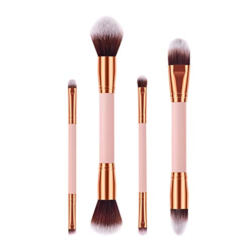 (CHUNKUNA Foundation Cosmetic Eyebrow Eyeshadow Soft Brush Makeup Brush for Blending Blush Makeup Sets Tools (Multicolor))