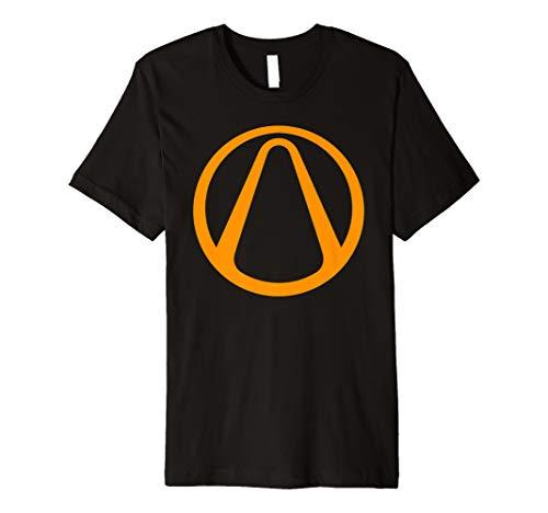 Borderlands Gold Vault Symbol T-Shirt - Vault Hunter Logo (Vault Symbol)