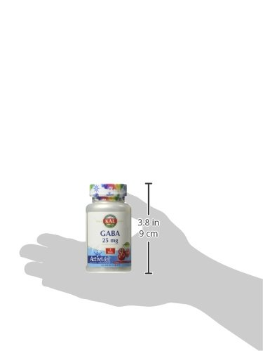 Amazon.com: Kal 25 Mg Gaba Cherry Tablets, 120 Count: Health & Personal Care