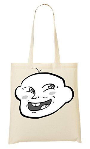 Baby Trollface Bolso De Mano Bolsa De La Compra