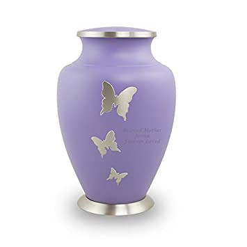edenStar Small Keepsake Urns for Human Ashes – Vases Mini Keepsake Urns Unique Design Handmade – Cremation Keepsake Urns for Ashes – Funeral Keepsake Urns Set of Four 4