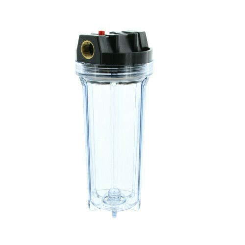Removes Oil Van Air Systems F200-0025-3//8-B-MD-PD6A-C F200 Series Compressed Air Filter White 3//8 NPT 1 /µm Differential Pressure Indicator 25 CFM Manual Drain Water and Solids