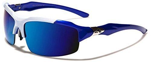 Enveloppe UNISEXE Bleu UV400 Lunettes SPORT inclus DEMI GRATUIT pochette Contour soleil Blanc complet BLEU COURSE Protection de SKI Hut Arctic vibrant CYCLISME HIVER 5EvBwqx6