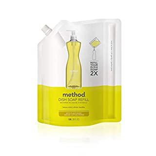 Method Dish Soap Refill, Lemon Mint, 36 Ounce