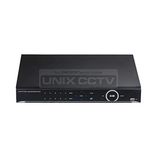 Magic QX Series | UVST MAGIC-QX16 | 16CH Octa-Brid DVR System, H.265, 4K Output, 2 HDD Slots, eSATA, 5MP TVI/4MP EX-SDI Support, 4CH Audio, TDM Support (NO HDD)