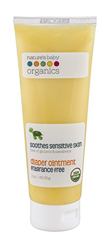 Natures Baby Organics Fragrance - Nature's Baby Organics Diaper Ointment, Fragrance Free, 3 oz. Soothing Skin Relief for Babies, Kids, Adults! Gentle, and Soft for Chafing & Rash, Organic, No Glutens, or Parabens