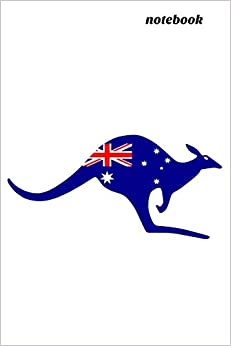 Notebook: Australian Flag Kangaroo Book Notepad Notebook Composition And Journal Gratitude Diary Descargar ebooks Epub