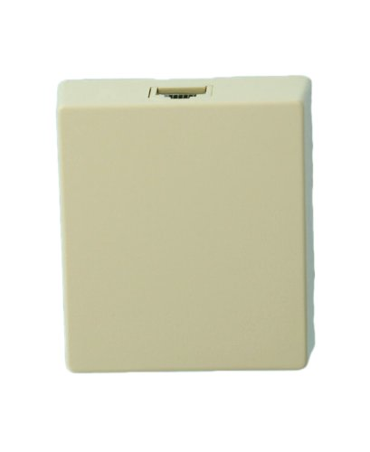 Leviton 4625A-26I 6P6C Screw Terminal, Type 625A2 Surface Mount Jack, Ivory