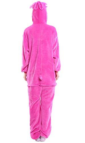 Party Pinkstitch Cosplay Donna Halloween Uomo Sleepwear Unisex Anime Kigurumi Costume Attrezzatura Natale Adulto Dolamen Pigiama Onesie XzPwq8XZx