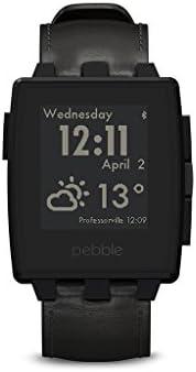 Pebble Steel Smartwatch Black Matte