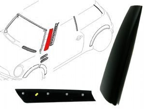 Pillar Moulding - Genuine Mini Cooper R50/r52/r53 Left A-pillar Moulding Trim Cover 51137128157
