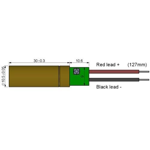 Quarton Laser Module VLM-650-12 LPT (SMALL DOT-SPOT LASER) by Quarton (Image #1)