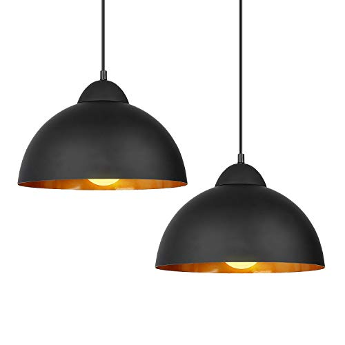 Black Pendant Light Shade in US - 8
