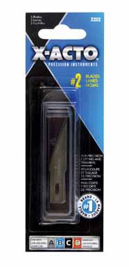 X-ACTO Bulk Buy Elmers #2 Refill Blades 5 Pack x 202 (3-Pack)