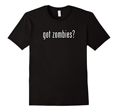 Mens Got Zombies?- Easy Halloween Costume 2017 Medium Black