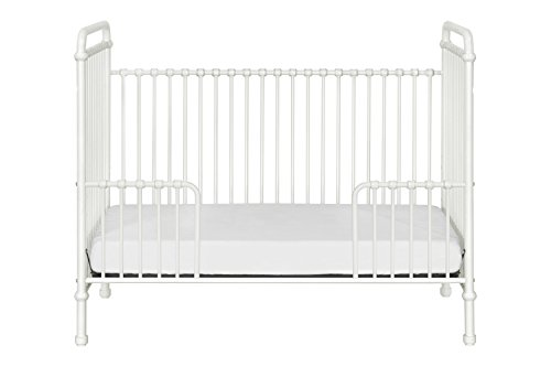 Million Dollar Baby Classic Abigail 3-in-1 Convertible Iron Crib,  Washed White by Million Dollar Baby Classic (Image #8)