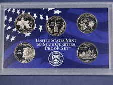 2000 S U.S 50 State Quarters Proof Set w/Box Proof