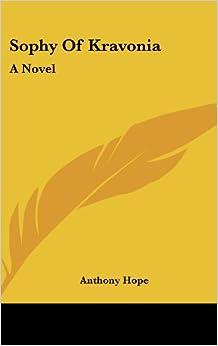 Book Sophy of Kravonia