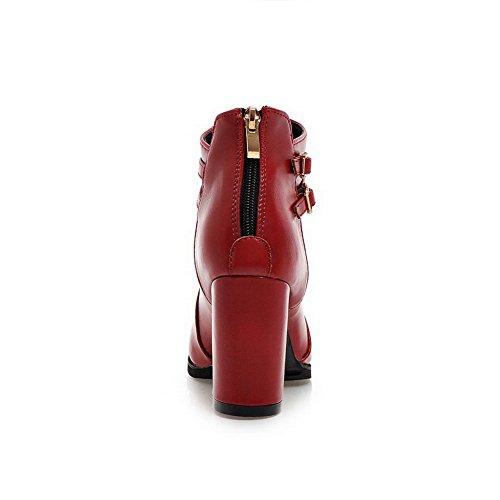 BalaMasa BalaMasaAbl10251 - A Collo Basso donna, Rosso (Red), 35 EU