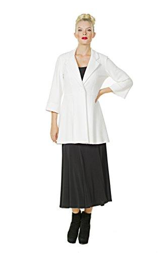 Eva Varro Women's Boot Length Flair Skirt Large Black by Eva Varro